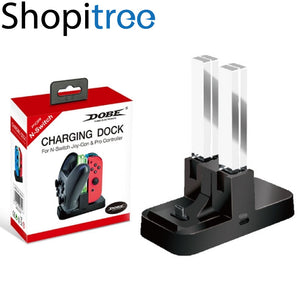 Dobe Charging Dock for Nintendo Switch Joy-Con & Pro Controller