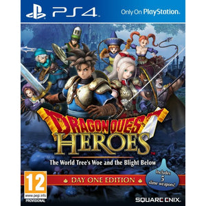 PS4 Dragon Quest Heroes: The World Tree's Woe and the Blight Below
