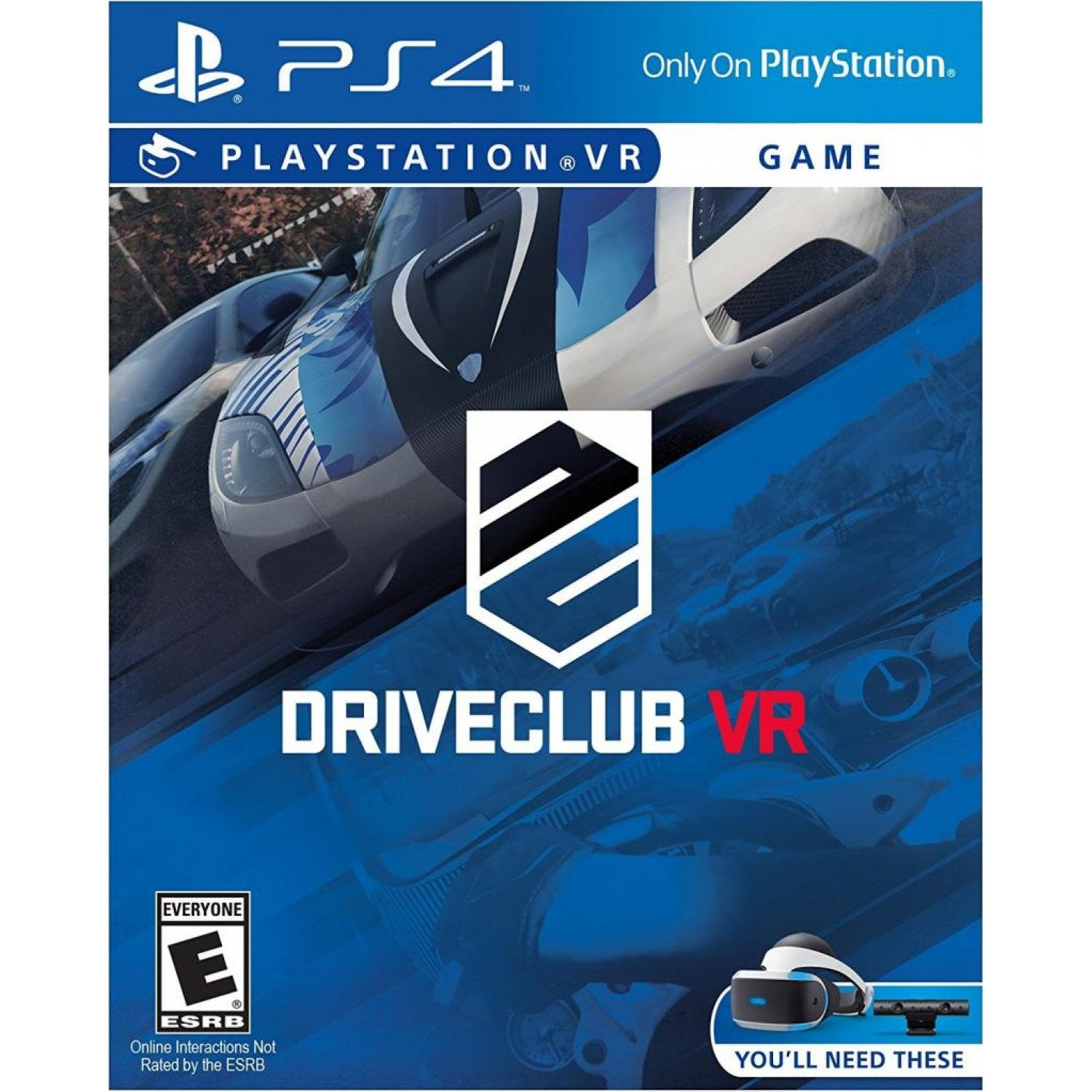 Vr Ps4 Bravo Team Aim Controller Region 3 English Driveclub