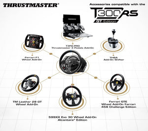 Thrustmaster T300RS GT Edition Steering Wheel + Pedal