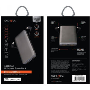 Energea Integra 7000Ci Lightning Type-C Power Bank