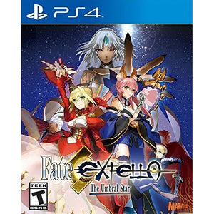 PS4 Fate/Extella: The Umbral Star