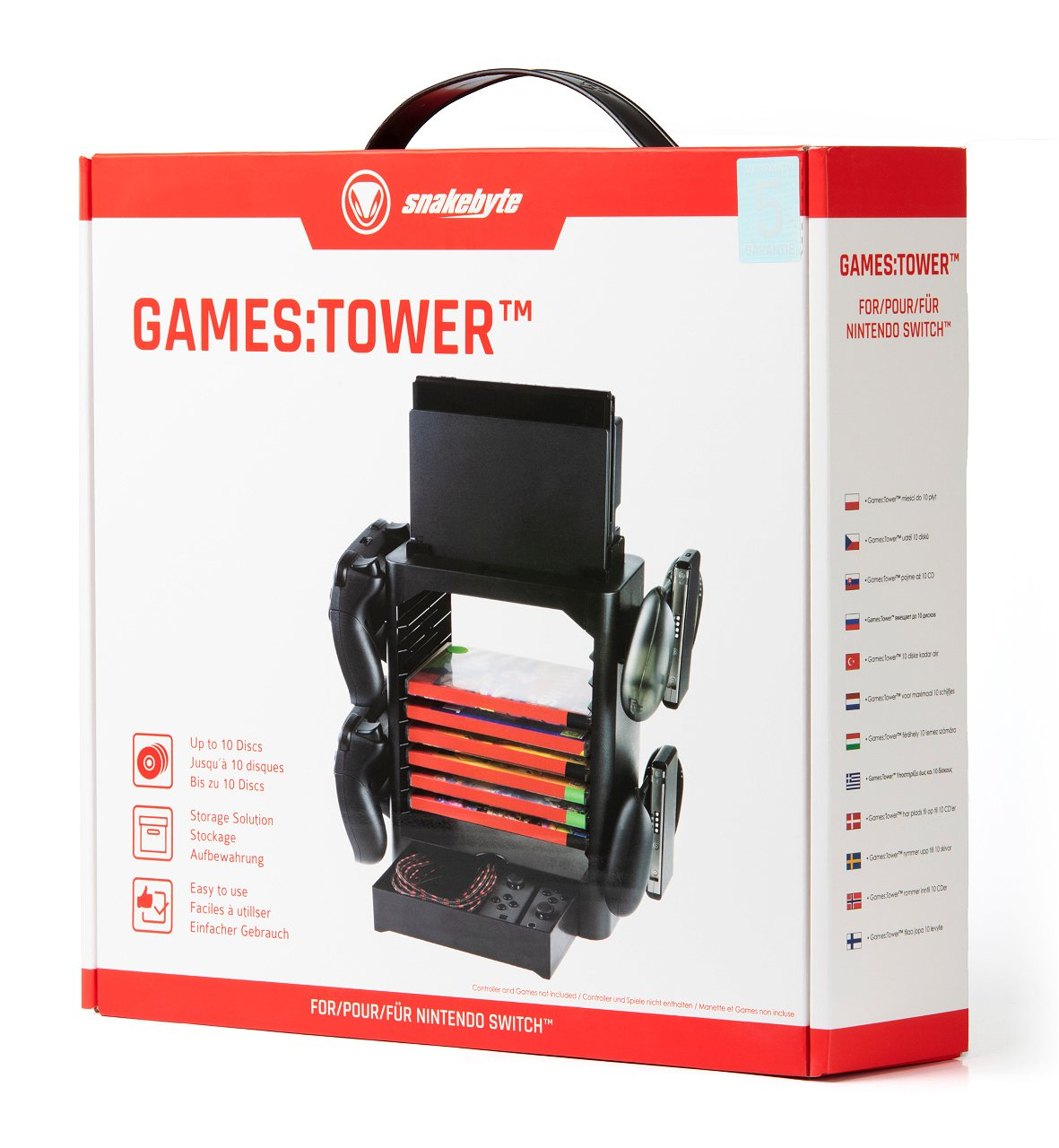 Snakebyte Games Tower For Nintendo Switch
