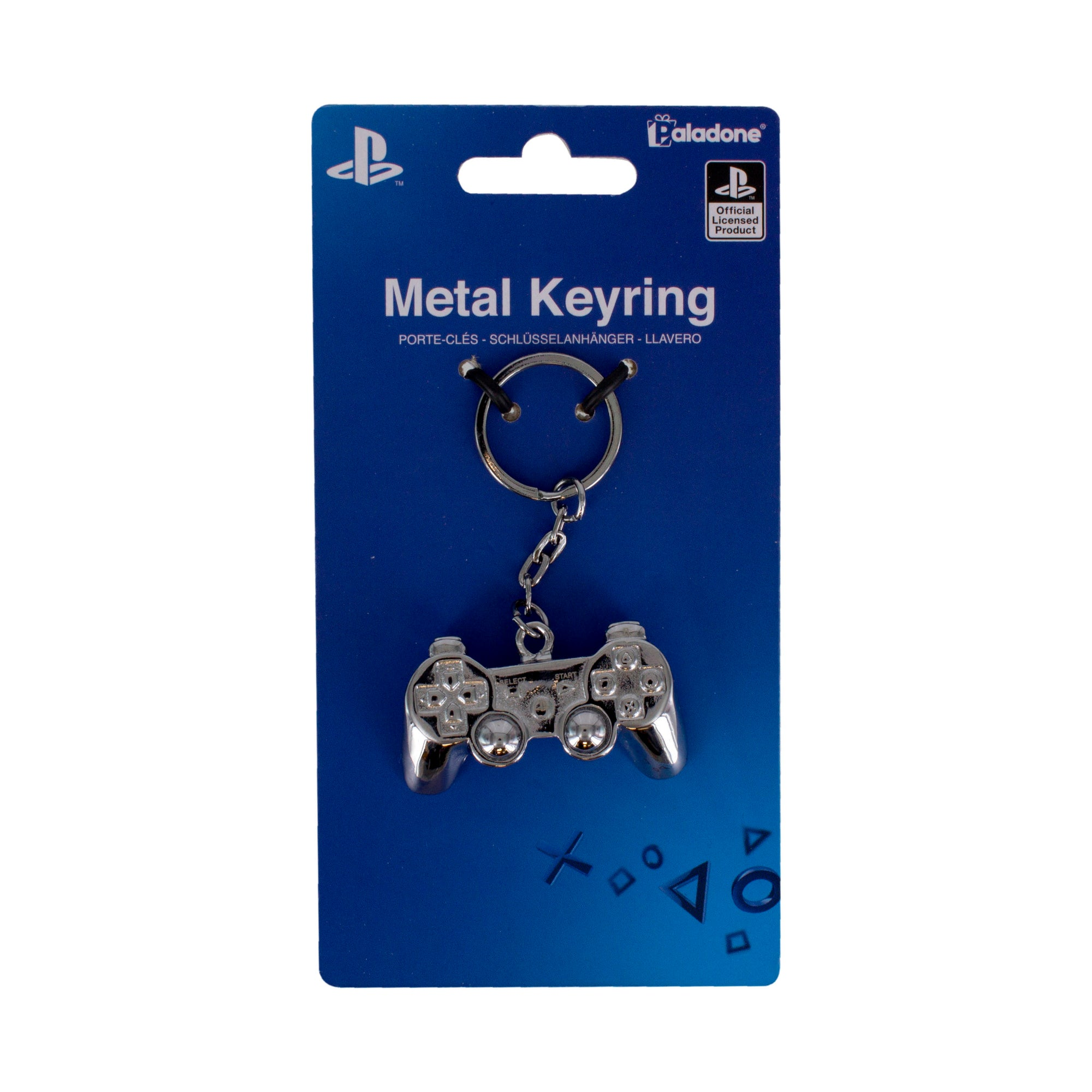 Playstation Controller 3D Metal Keychain