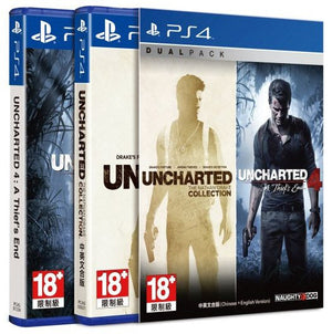 PS4 DualPack Uncharted Complete Collection