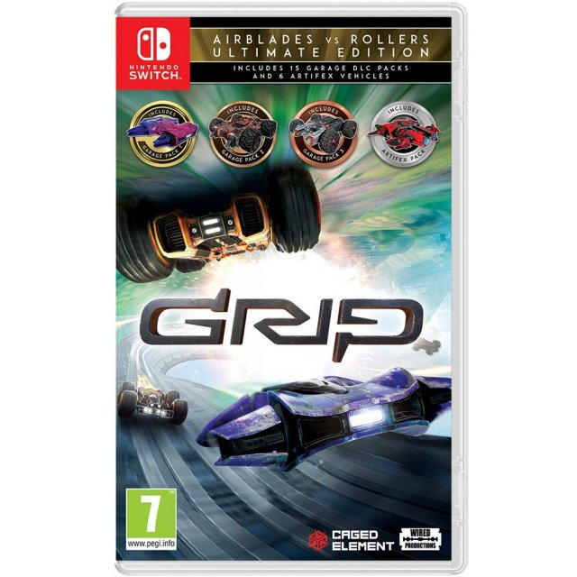 Nintendo Switch GRIP: Combat Racing - AirBlades vs Rollers Ultimate Edition