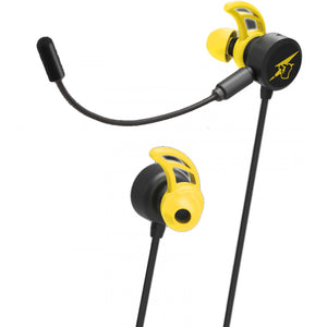 Hori Gaming Headset In-Ear for Nintendo Switch (Pikachu-COOL)