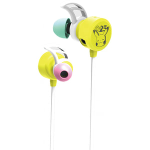 Hori Gaming Headset In-Ear for Nintendo Switch (Pikachu-POP)