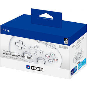 Hori Wired Controller Light White Controller For PS4