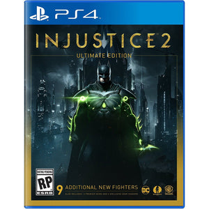 PS4 Injustice 2 Untimate Edition with FREE Batman Cap +Magnet + $20 DC Super Heroes Cafe Discount Voucher