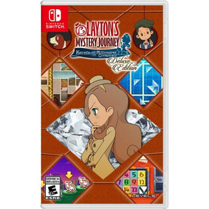 Nintendo Switch Layton's Mystery Journey: Katrielle and The Millionaires' Conspiracy [Deluxe Edition]