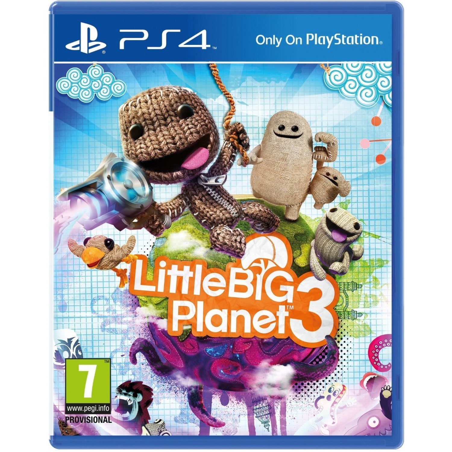 PS4 Little Big Planet 3 PlayStation Hits