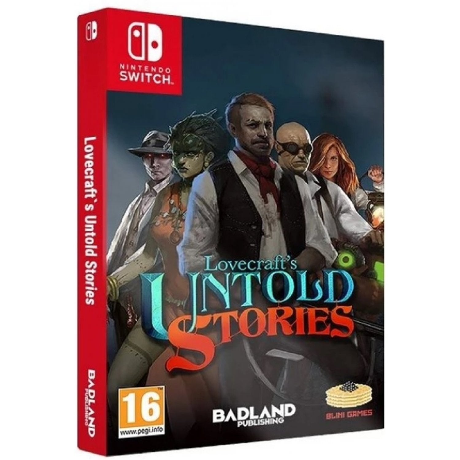 Nintendo Switch Lovecraft's Untold Stories Collector's Edition