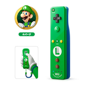 Wii U NINTENDO Official Remote Plus / Luigi Edition