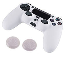 PS4 Controller Silicon Case - White