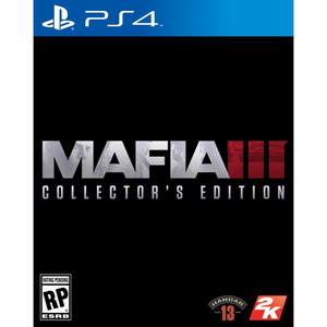 PS4 Mafia III Collector's Edition