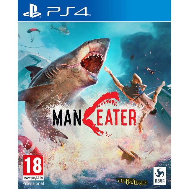 PS4 Maneater Day One Edition with DLC