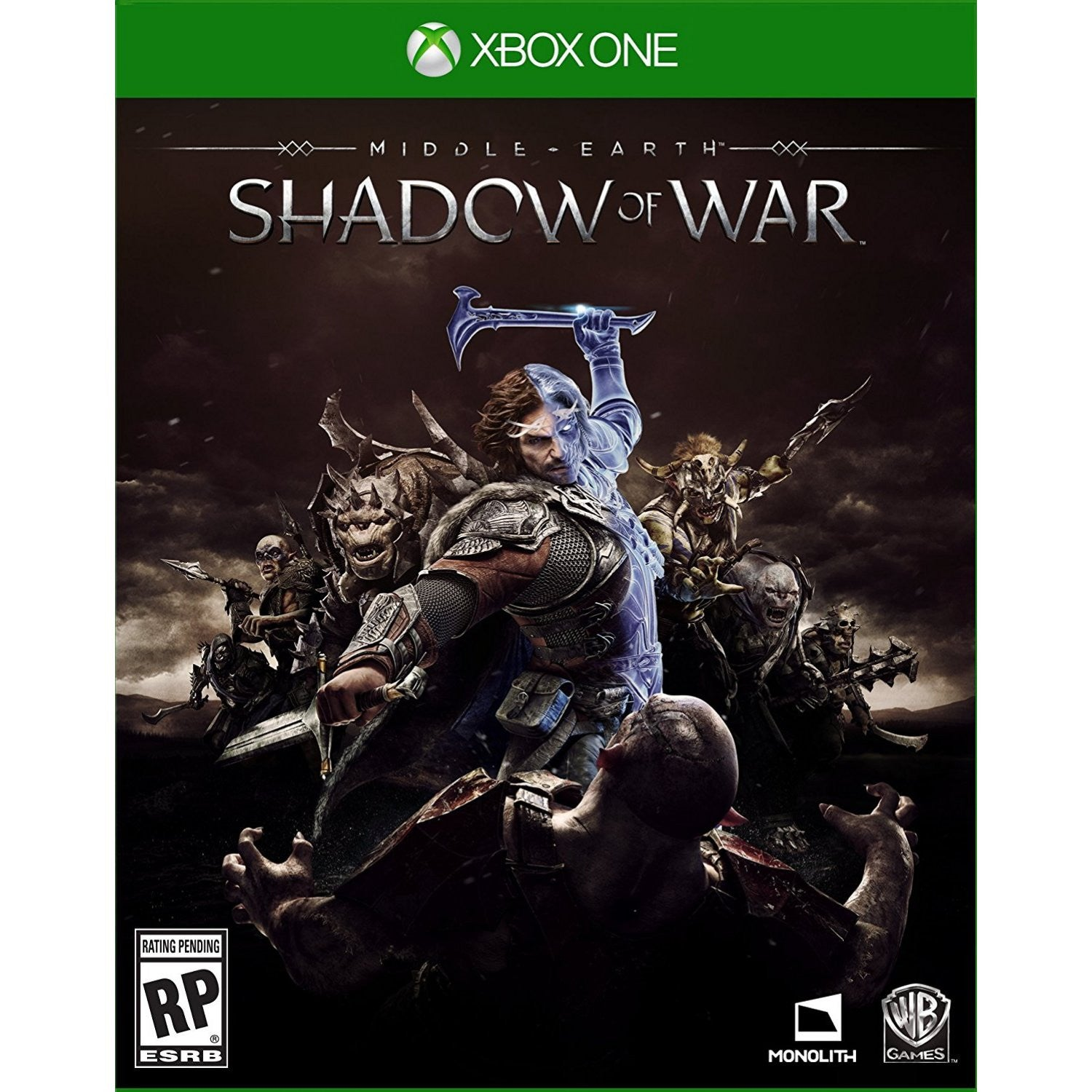 Products Page 60 Xbox One Mx Gp 2 Cover English Middle Earth Shadow Of War