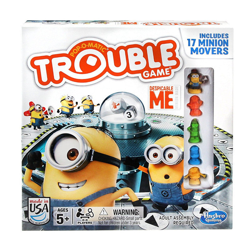 Trouble Game Despicable Me Edition