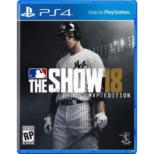 PS4 MLB The Show 18 MVP Edition
