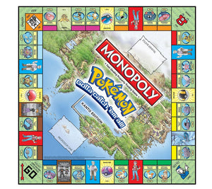MONOPOLY Pokemon Kanto Edition