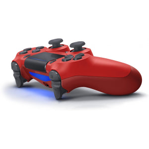 Sony Official DualShock 4 CUH-ZCT2 New Series Wireless Controller for PS4 - Magma Red