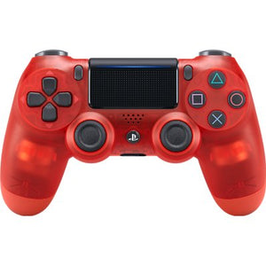 Sony Official DualShock 4 CUH-ZCT2 New Series Wireless Controller for PS4 - Red Crystal