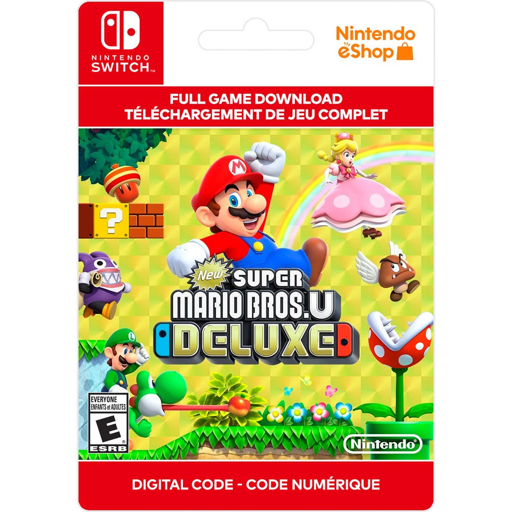 Nintendo Switch New Super Mario Bros. U Deluxe (Digital Code)