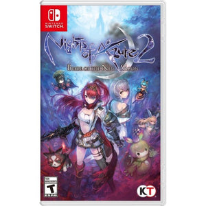 Nintendo Switch Nights of Azure 2: Bride of the New Moon