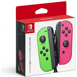 Nintendo Switch Joy-Con Controllers - Neon Green / Neon Pink + 3 Months Warranty by Nintendo Distributor (Maxsoft)