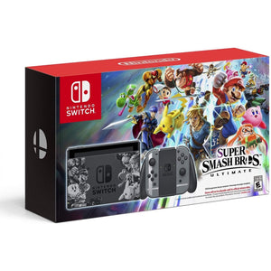 Nintendo Switch Super Smash Bros. Ultimate Console + 1 Year Warranty By Nintendo Distributor