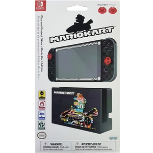 PDP Nintendo Switch Screen Protection n Skis - Mario Kart Edition