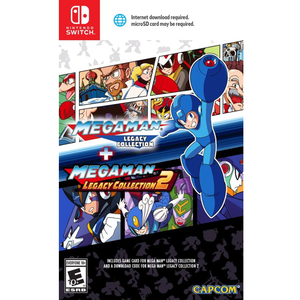 Nintendo Switch Megaman Legacy Collection 1 + 2