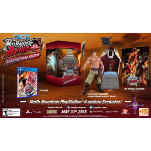 PS4 One Piece: Burning Blood [Marineford Edition]