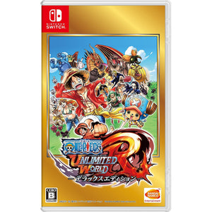 Nintendo Switch One Piece Unlimited World R Deluxe Edition