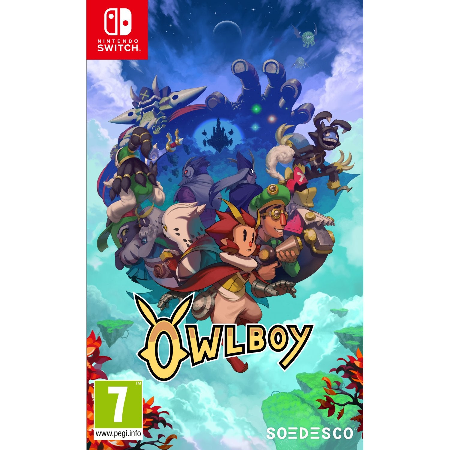 2for8off Switch Soldam Drop Connect Erase Game English Nintendo Owlboy