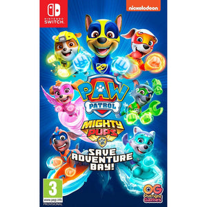Nintendo Switch PAW Patrol Mighty Pups Save Adventure Bay