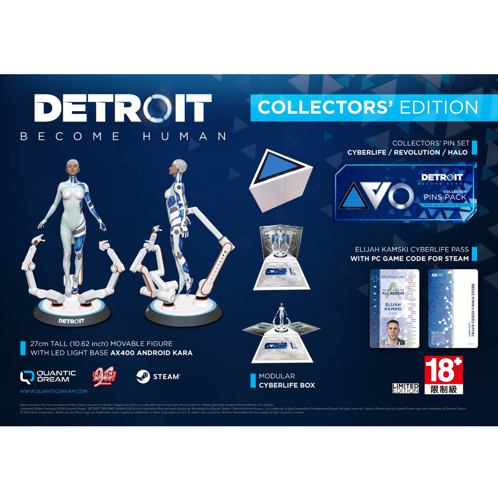 PC Detroit: Become Human Collector's Edition