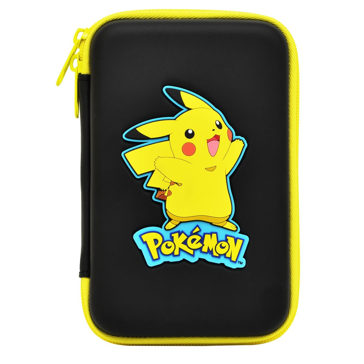Hori New Nintendo 3ds Xl Pikachu Hard Pouch Screen Tempered Glass For Ll