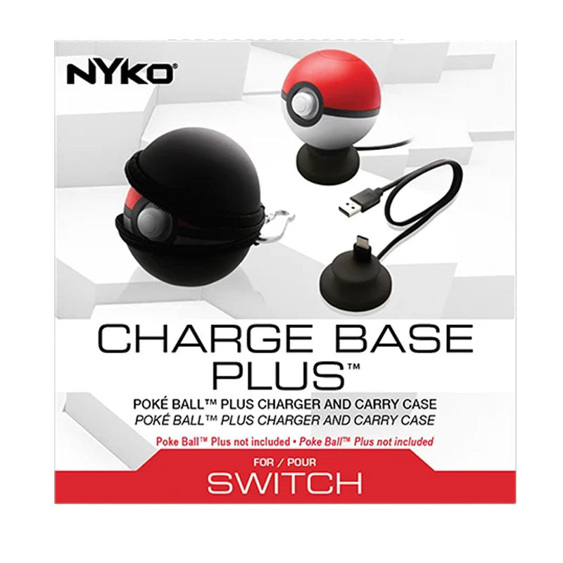 Nyko Charge Base Plus for PokéBall Plus