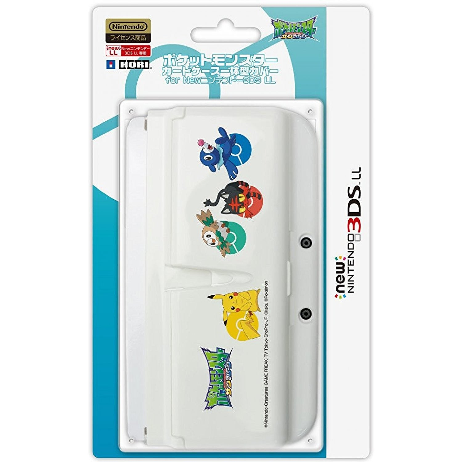 HORI Pokemon Card Case Cover For NEW 3DS LL/XL