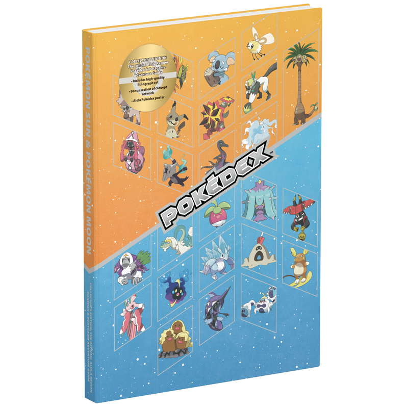 Pokemon Sun & Pokemon Moon: The Official Aloha Region Pokedex & Postgame Adventure Guide (Collector's edition)