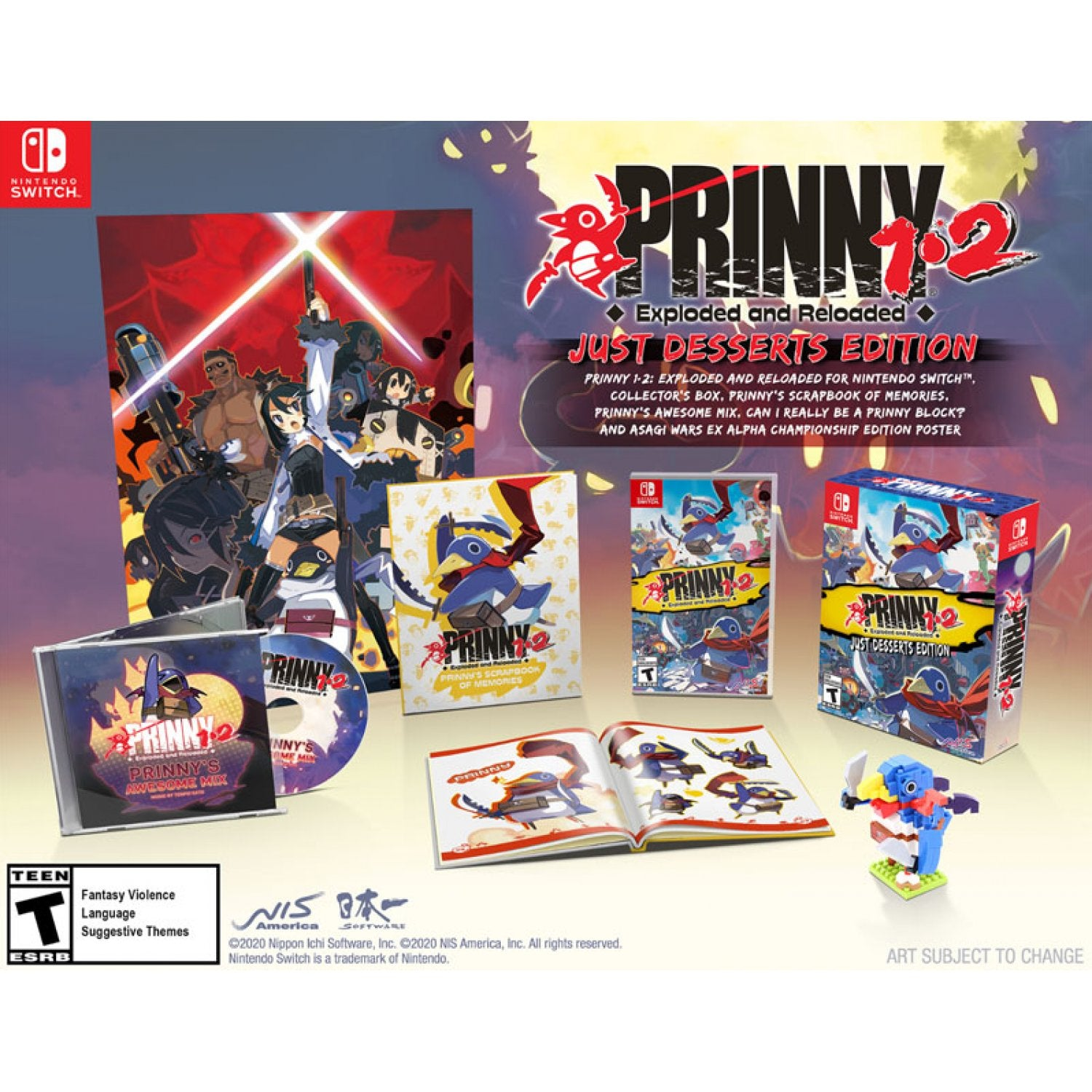 Nintendo Switch Prinny 1-2: Exploded and Reloaded [Just Desserts Edition]
