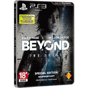PS3 Beyond Two Souls Special Edition