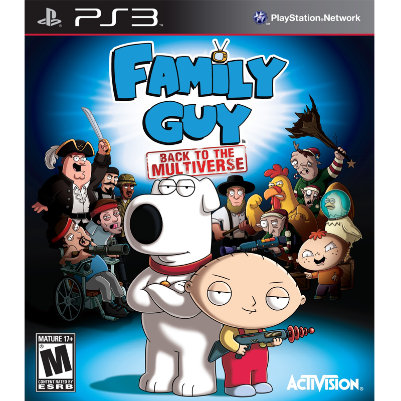 PS3 Family Guy: Back To Multiverse