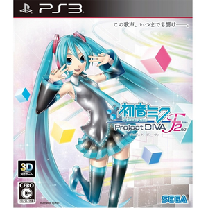 PS3 Hatsune Miku: Project Diva F 2nd