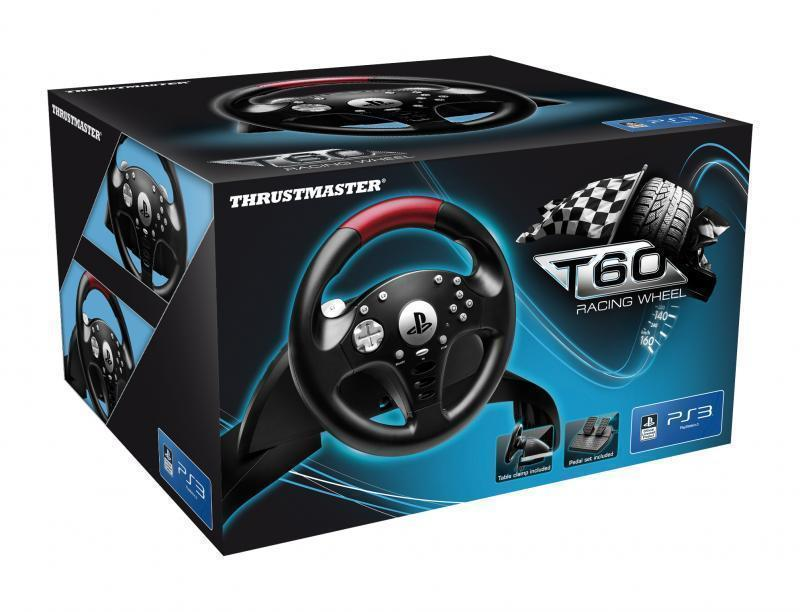 Thrustmaster T60 Racing Wheel (PS3/PC)