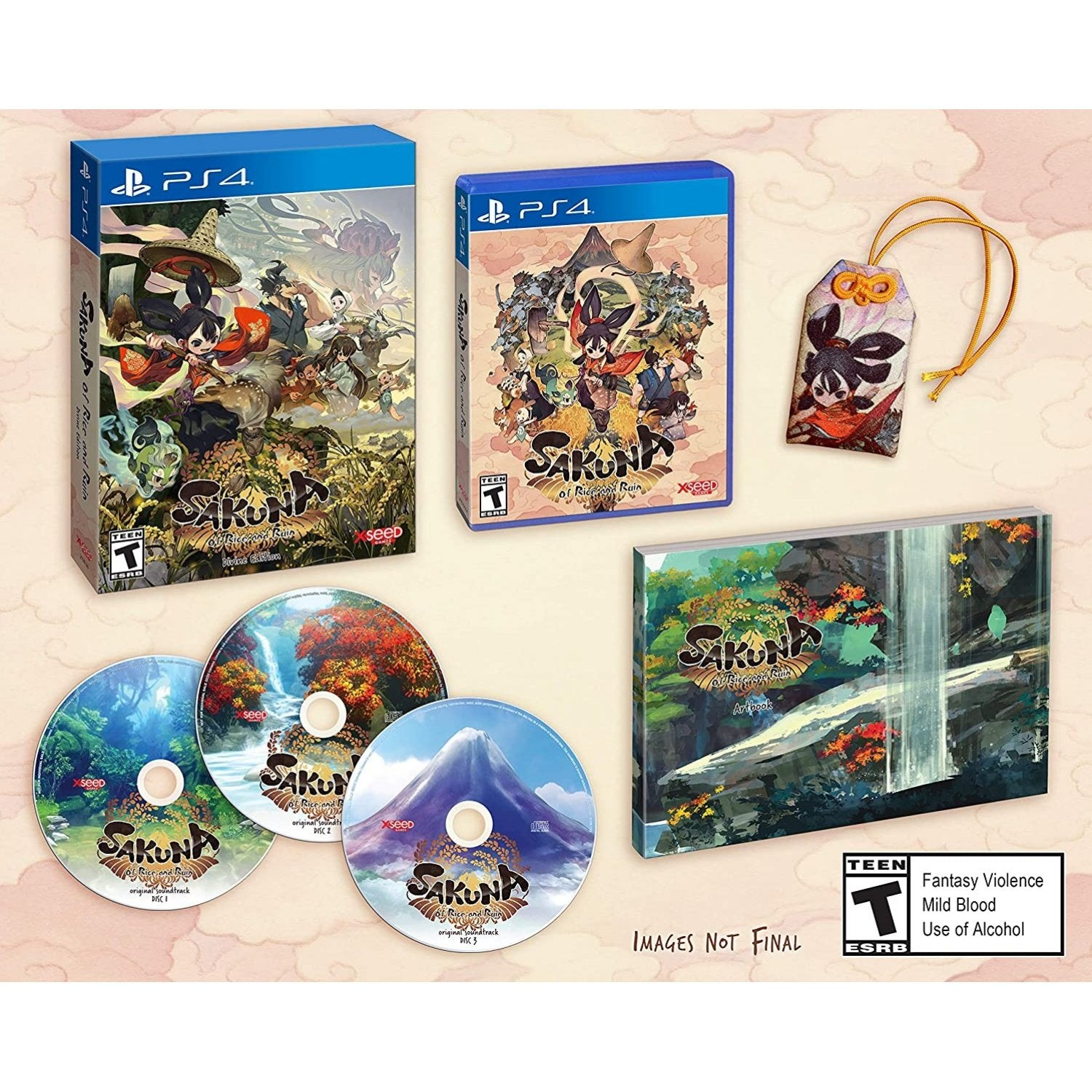 PS4 Sakuna: Of Rice and Ruin [Divine Edition]