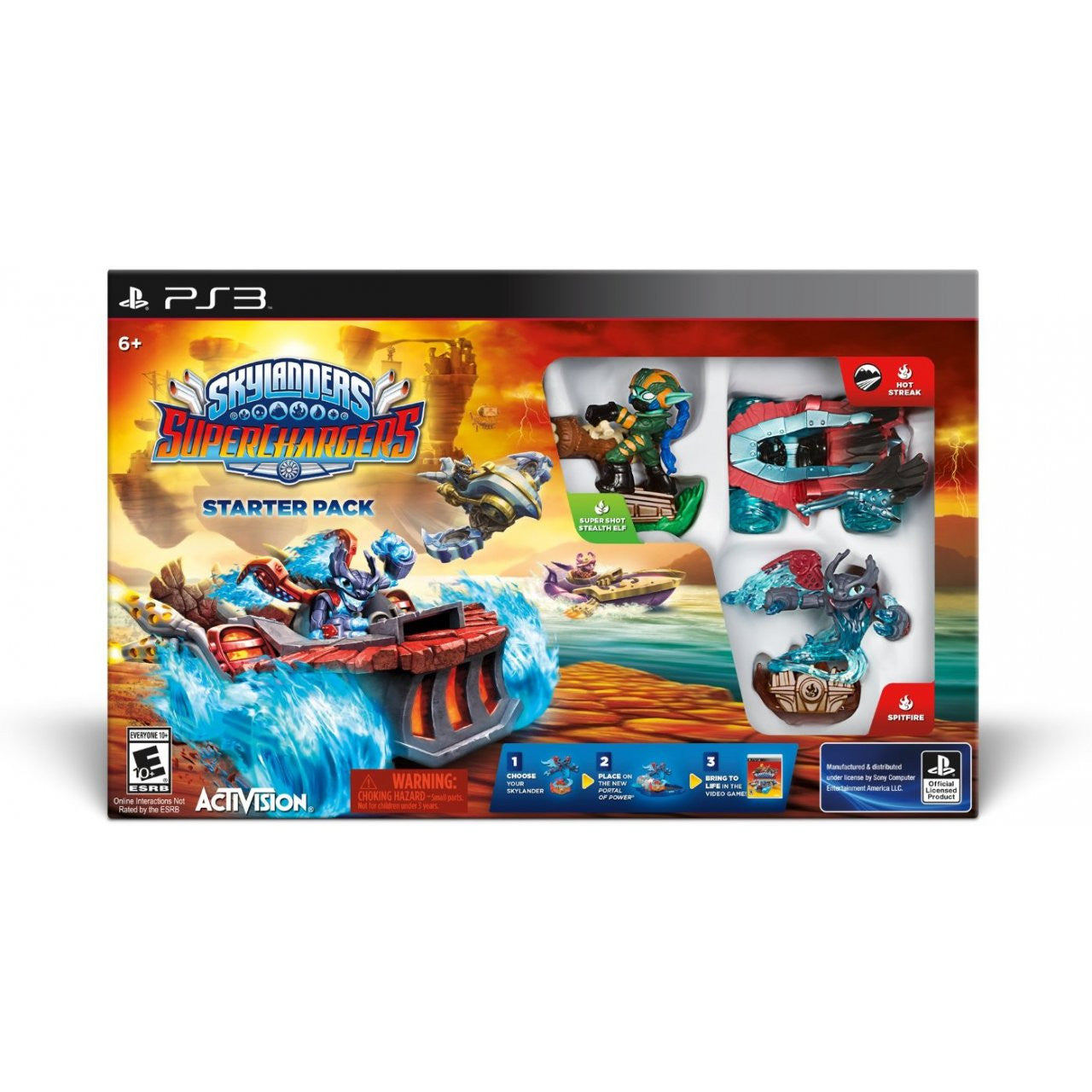 Skylanders SuperChargers - Starter Pack (3DS / PS3 / XBox One / XBox 360 / Wii / Mobile)