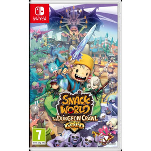 Nintendo Switch Snack World: The Dungeon Crawl Gold